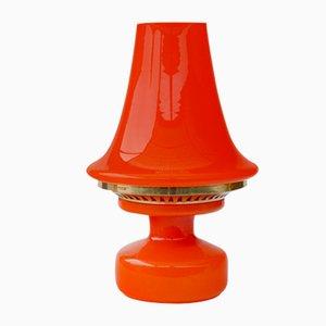 Lampada da tavolo B124 arancione di Hans-Agne Jakobsson, anni '70