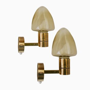 V-220 Wall Lamps by Hans-Agne Jakobsson for Markaryd, 1970s, Set of 2