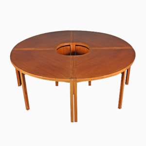 Sectional Conference Table by Åke Axelsson for Gärsnäs Mobler, 1981