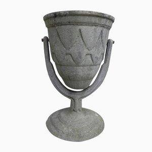 Cache-Pot de Jardin Vintage en Aluminium Coulé Articulé