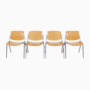 DSC Axis 106 Stühle von Giancarlo Piretti für Castelli, 12er Set