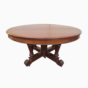 Antique French Mahogany Extending Table
