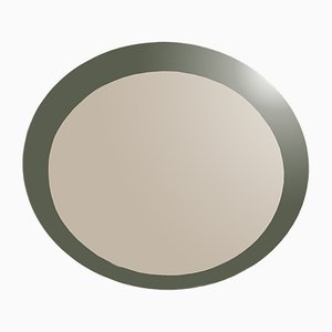 Espejo italiano redondo de Per Linnemann-Schmidt, años 60