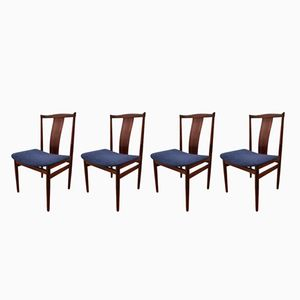 Rosewood Chairs by Henning Sorensen for Danex, 1960s, Set of 4