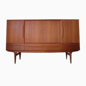 Hohes Sideboard aus Teak von Johannes Andersen, 1960er