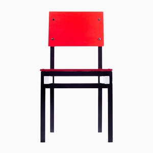 Military Chair by Gerrit Thomas Rietveld, 1980s