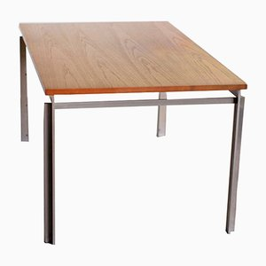 PK 53 Work Table or Desk by Poul Kjærholm for E. Kold Christensen, 1950s