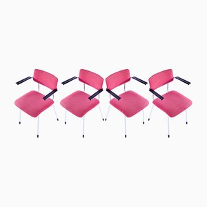 1235 Chairs by Dick Cordemeijer for Gispen, 1960s, Set of 4