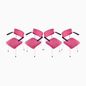 1235 Stühle von Dick Cordemeijer für Gispen, 1960er, 4er Set