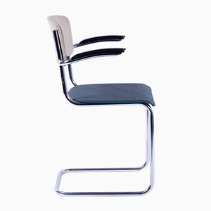 208 Side Chair by Willem Hendrik Gispen for Gispen, 1940s