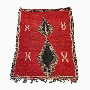 Alfombra Zaiane bereber marroquí vintage, años 60