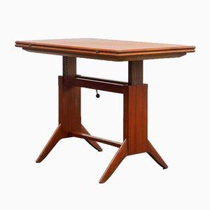 Table Basse à Hauteur Ajustable de Wilhen Orme Renz, 1950s
