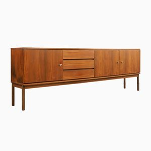 Large Walnut Sideboard, 1960s