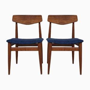 Esszimmerstühle aus Palisander von TopForm, 1960er, 2er Set