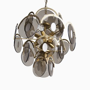 Lampe à Suspension Vintage par Gino Vistosi, 1960s