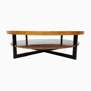 Table Basse Vintage en Palissandre & en Teck, 1960s