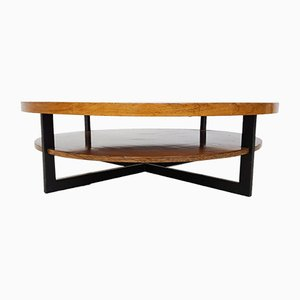 Vintage Rosewood & Teak Coffee Table, 1960s