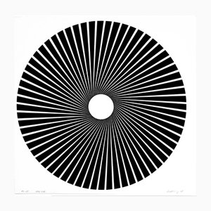 Op Art Panderma Edition Screenprint by Wolfgang Ludwig, 1968