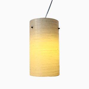 Lámpara colgante Mid-Century de fibra de vidrio, años 50