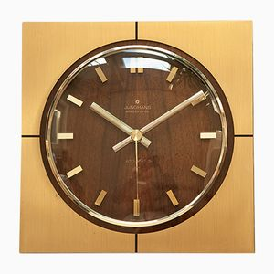 Mid-Century ATO-MAT Wall Clock from Junghans, 1960s