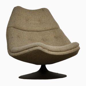 F590 Sessel von Geoffrey Harcourt für Artifort, 1960er