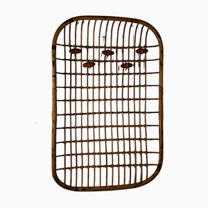 Rattan Coat Rack from Vittorio Bonacina, 1960s