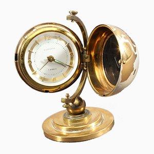 Orologio Mid-Century a forma di mappamondo, anni '50