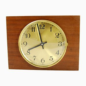 Rosewood Wall Clock, 1970s