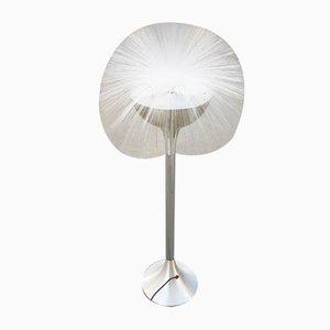 Lámpara de pie de fibra de vidrio, años 70