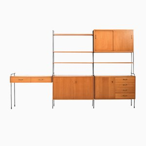 Ash Omnia Shelf System by Ernst Dieter Hilker for Hilker, 1960s