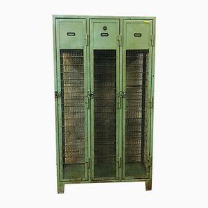Vintage Industrial German Metal Locker