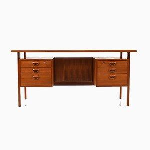 Schreibtisch aus Teak von Kai Kristiansen für Feldballes Møbelfabrik, 1960er