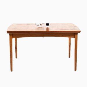 Mid-Century Danish Teak and Oak Dining Table