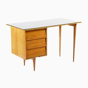 Mid-Century Ash Writing Desk from Knoll Inc., 1958