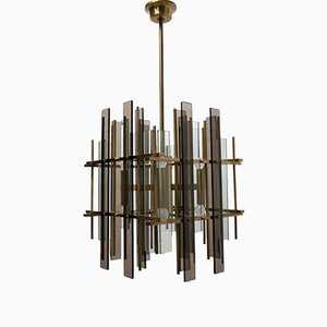 Vintage Chandelier from Sciolari, 1970s