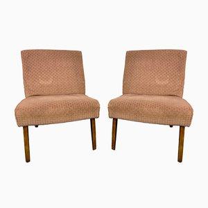 Braune Vintage Sessel von Cintique, 2er Set