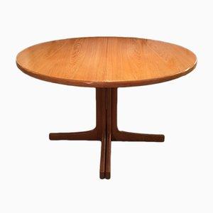 Extendable Teak Dining Table by Karl-Erik Ekselius for JOC Vetlanda, 1960s