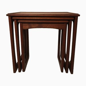 Mid-Century Danish Teak Nesting Tables, 1960s