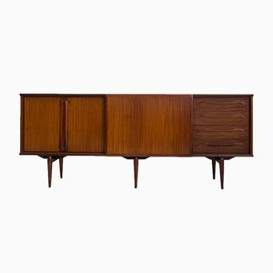 Vintage Italian Teak Veneered Sideboard from Amma, 1950s