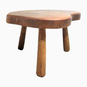 Table d'Appoint Vintage en Tronc d'Arbre