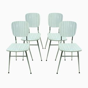 Dining Chairs, 1950s, Set of 4
