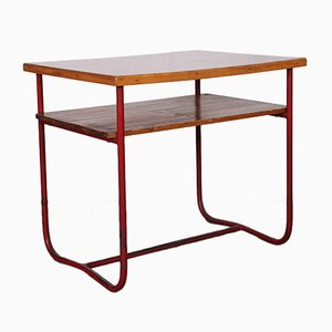 Tavolino da caffè in metallo tubolare, anni '60