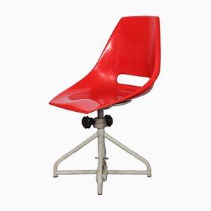 Silla de escritorio de Miroslav Navratil para Vertex, años 60