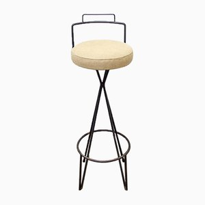 Tabouret de Bar Industriel, 1970s