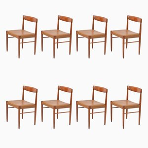 Rosewood Dining Chairs by H.W. Klein for Bramin, 1960s, Set of 8