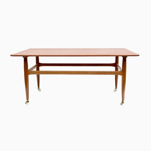 Table Basse Mid-Century en Noyer, Danemark