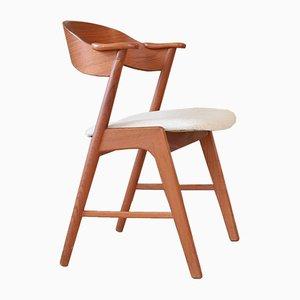 Mid-Century Armlehnstuhl aus Teak von Kai Kristiansen für Korup Stolefabrik, 1960er