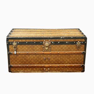 Antique Canvas Trunk from Louis Vuitton, 1900s