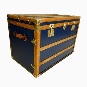 Vintage Blue Trunk by Ico & Luisa Parisi, 1920s