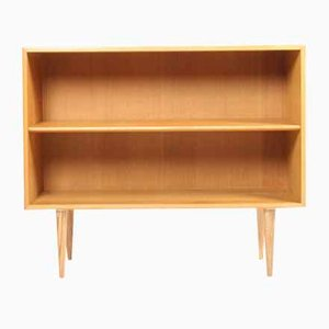 Vintage Danish Oak Bookcase by Børge Mogensen for Søborg Møbelfabrik